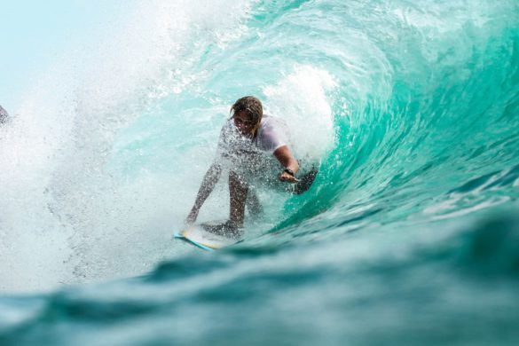 surfear la ola